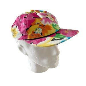 Coal Headwear Hawaiian Print Flat Brim Camper Hat